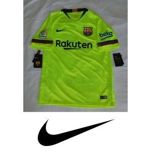 Nike Barcelona 2018 2019 Away Soccer Jersey